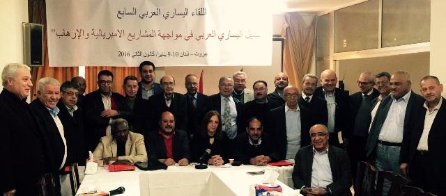 في اللقاء اليساري العربي السابع، عبد العال: الانتفاضة هي تفاؤل الإرادة في وجه تشاؤم اللحظة