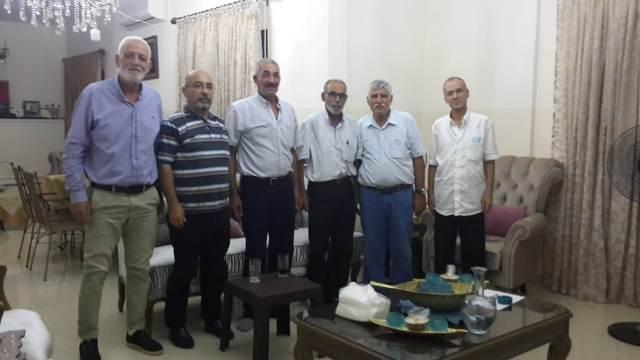 الشعبية في الإقليم تزور مكتب جبهة التحرير الفلسطينية