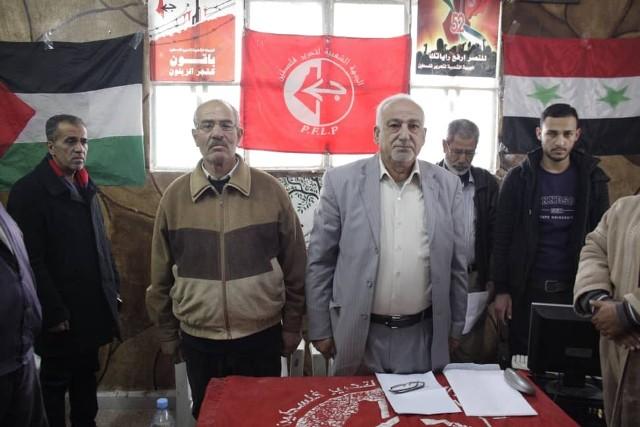 الشعبية تُحيي ذكرى انطلاقتها بندوةٍ سياسية في مخيم خان الشيح