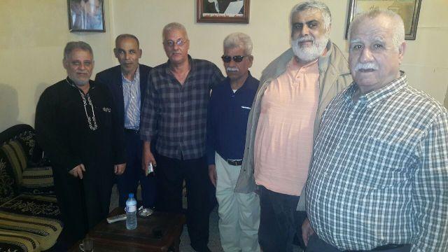 الشعبية تزور لجنة حي الزيب في مخيم عين الحلوة