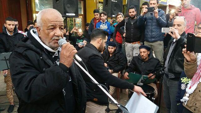 منظمة الشبيبة الفلسطينية - فرقة الكرمل -مفوضية نهر البارد تنتصر للقدس