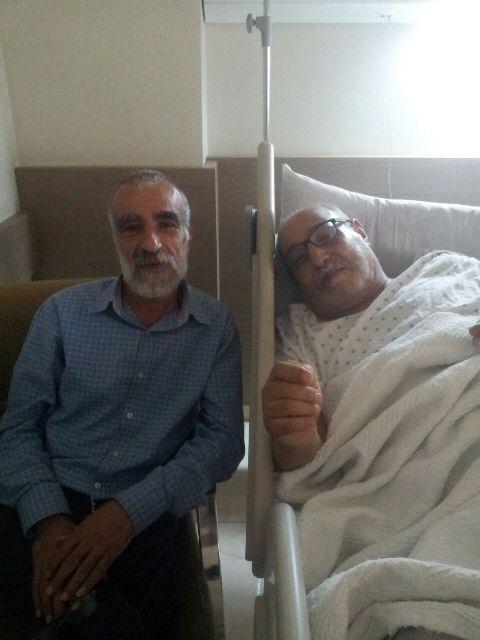 الجبهة الشعبية لتحرير فلسطين في الشمال تعود المرضى في المستشفيات
